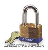 黄铜千层锁(29mm宽锁体) Master lock,8LF,8KALF,5mm粗锁钩,中钩38mm