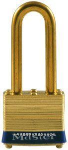 黄铜千层锁(44mm宽锁体) Master lock,2LJ,2KALJ,8mm粗锁钩,长钩64mm