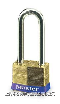 黄铜千层锁(51mm宽锁体) Master lock,6LJ,6KALJ,10mm粗锁钩,长钩64mm