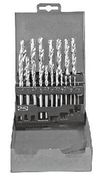 组套高速钢镀钛麻花钻头 KT6-153-669