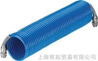 FESTO螺旋式塑料气管 PPS-6-7,5-1/4-BL