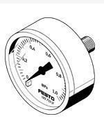 销售FESTO压力表产品 MA-50-16-1/4