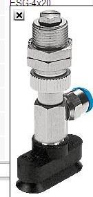 ESG-10-SN-HCL-QS,进口FESTO真空吸盘 ESG-10-SN-HCL-QS