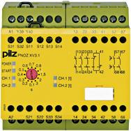 PILZ安全繼電器777512價格優勢 750103 PNOZ s3 24VDC 2 n/o