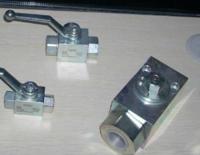 安全使用HYDAC的高/低压球阀,原装新品 KHM-50-F6-11141-06X