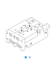 FESTO小型滑台式气缸SLT系列选型手册 SLT-20-50-A-CC-B
