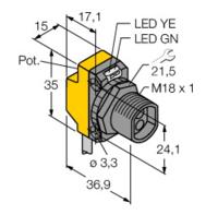 使用說明TURCK圖爾克流量傳感器 NI4-M12-AD4X