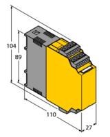 使用前須知TURCK圖爾克i轉速監控器 IM21-14-CDTR