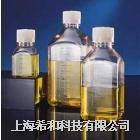 美國Nalgene 2019經消毒方形介質瓶,聚對苯二甲酸乙二酯共聚多酯;白色低密度聚乙烯螺紋蓋 2019