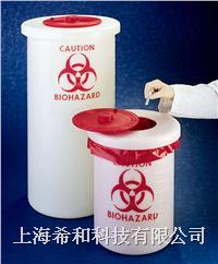 美國Nalgene 6370防生物危害廢料容器,聚丙烯 6370