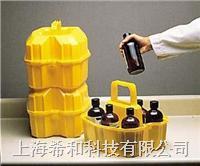 美國Nalgene6505 500ml裝安全試劑瓶搬運籃,線性低密度聚乙烯 6505