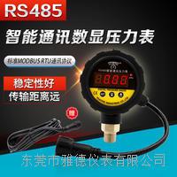 PP表頭RS485智能通訊數顯壓力表 YDS1-M19/26-RS485
