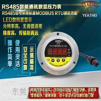 60MM軸向帶邊數顯遠傳壓力表 YDS1-M19/26-RS485-SUSLB60