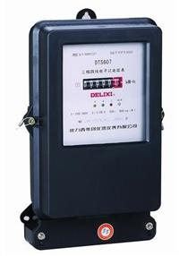 DTS607三相电子式电能表 DTS607 220/380V 1.0级 15(60)A485