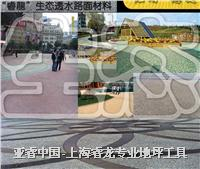 廣場地面鋪裝——透水混凝土 彩色透水地坪 YR-T1