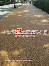 天然透水膠築石,彩色石米膠,美國進口固化劑,上海睿龍廠家