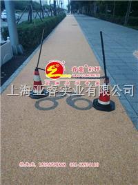 天然透水膠筑石,彩色石米膠,美國進口固化劑,上海睿龍廠家