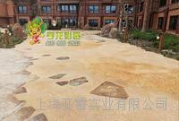 彩色礫石地坪
