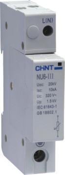 正泰電涌保護器   NU6-Ⅲ     NU6-Ⅲ/F NU6-Ⅲ     NU6-Ⅲ/F