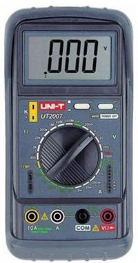 UT2007折叠数字万用表|优利德UNI-T折叠数字万用表
