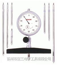 T-2C日本孔雀PEACOCK牌针盘式深度计 日本T-2C深度计 孔雀牌针盘式深度计