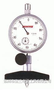 孔雀深度计 日本孔雀PEACOCK牌 T-6A 针盘式深度计 苏州宝三电子工具商行