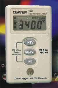 CENTER 340溫度記錄儀 CENTER 340
