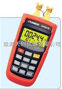 便攜式雙通道熱電偶溫度計 HH801B