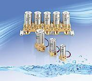 SMC水·空氣用小型直動式2通電磁閥 VDW VDW