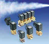SMC蒸汽用直動式2通電磁閥 SMC