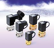 SMC溫水用直動式2通電磁閥 SMC