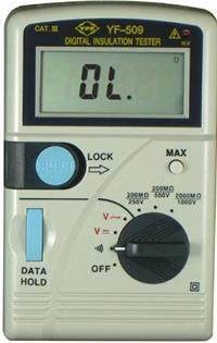 數位高阻計YF-509 YF-509