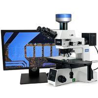 OMT-4RT微分干涉LCD粒子爆破检查显微镜
