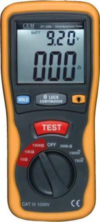 接地电阻测试仪DT-5300**香港CEM华北总代理 DT-5300