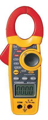 雙鑄塑交流鉗形表DT-3341香港CEM總代理 DT-3341