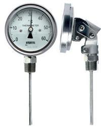 万向型双金属温度计 安徽天康WSS-481 WSS-581