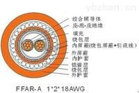 SWA钢丝铠装总线电缆1*2*22AWG