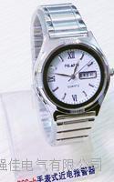 BSG-B手表式近電報警器,電工手表 女式白面帶日歷手表 BSG-B