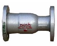 QH41M-25Q-DN80,QH41M-25Q-DN100,QH41M-25Q-DN125, 卧立两用球面止回阀