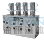 雙線分配器 VSKV2-KR VSKV4-KR VSKV6-KR VSKV8-KR 油研雙線分配器 YOUYAN雙線分配器  VSKV2-KR VSKV4-KR VSKV6-KR VSKV8-KR