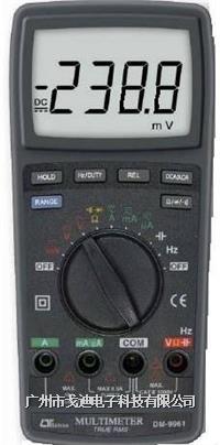 臺灣路昌多功能電表DM-9961 自動擋萬用表