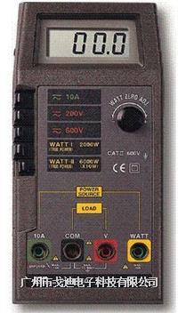 臺灣路昌/瓦特功率表DW-6060 掌上型瓦特表