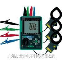 日本共立 電能質量分析儀KEW-6305 電力品質檢測儀