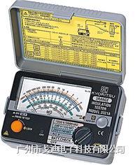 日本共立 高阻計MODEL-3321A/MODEL-3322A/MODEL-3323A 指針式絕緣電阻測試儀