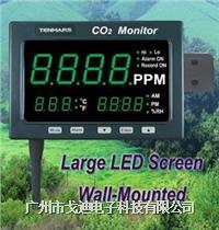 臺灣泰瑪斯|多功能二氧化碳分析儀TM-186/TM-187 壁掛式二氧化碳檢測儀