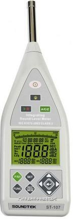 臺灣泰瑪斯|噪音計ST-105S 積分式音頻分析儀