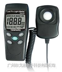 臺灣泰瑪斯|數字照度計TM-201 光強度計