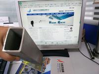 办公楼大理石挂件用无缝不锈钢矩形管 120*80*5
