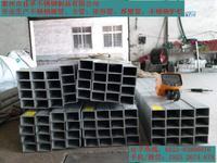兴化不锈钢方管用作设备框架机构 120*120*6  120*80*6