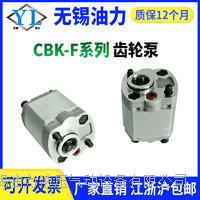 液压油泵CBK-F0.8 1.2 2.0 2.5 2.7 3.0 5.8 6.8 动力单元齿轮泵 CBK-F0.63